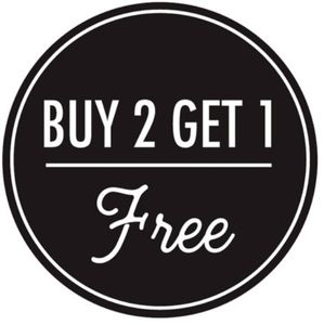 Other - Buy 2 Get 1 Free Sale